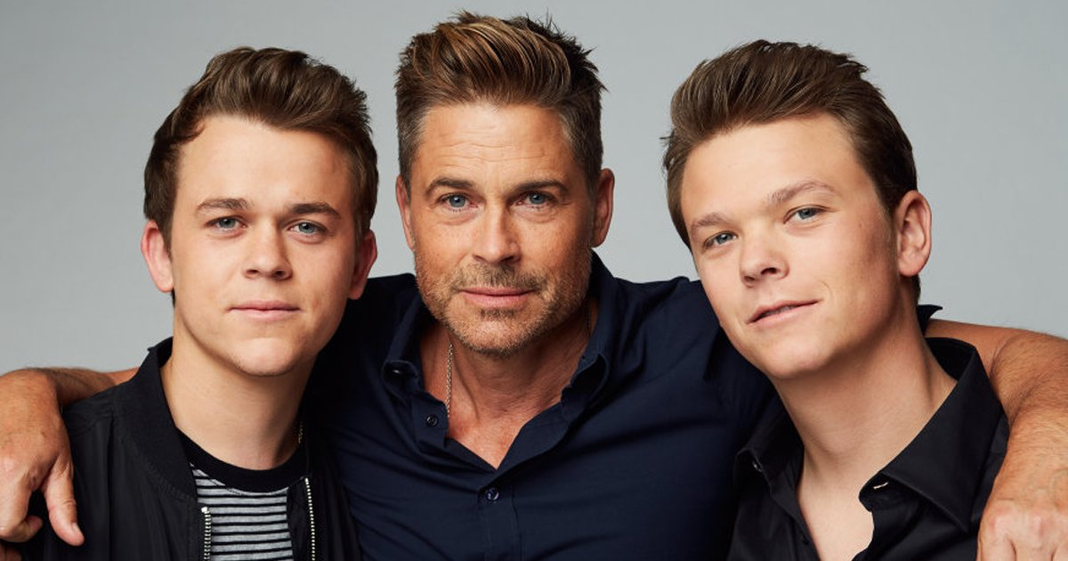 rob lowes sons.jpg?resize=412,232 - Rob Lowe's Sons Love Trolling Their Dad And These 10 Images Are Proof