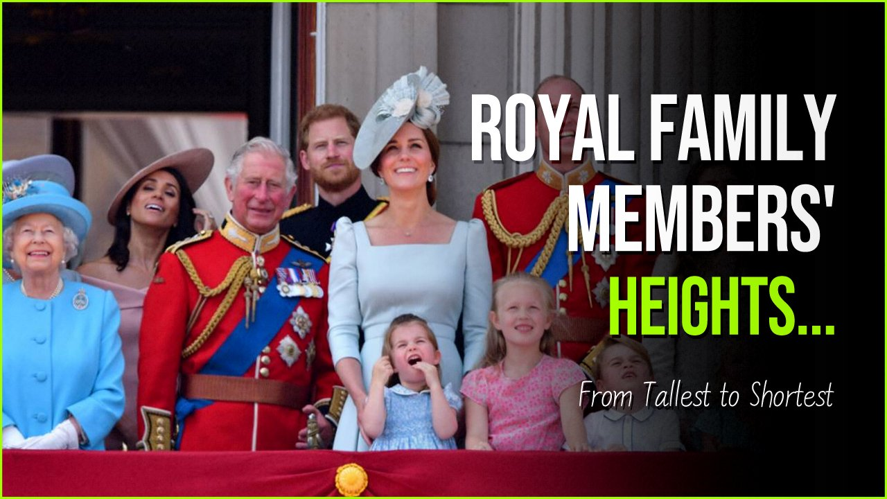 royal family heights.jpg?resize=1200,630 - How Tall Is Queen Elizabeth And Other Royal Members?