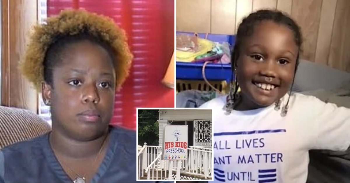 school5.png?resize=1200,630 - Mother Claims 6-Year-Old Daughter Was Kicked Out Of Daycare Center For Wearing BLM T-Shirt