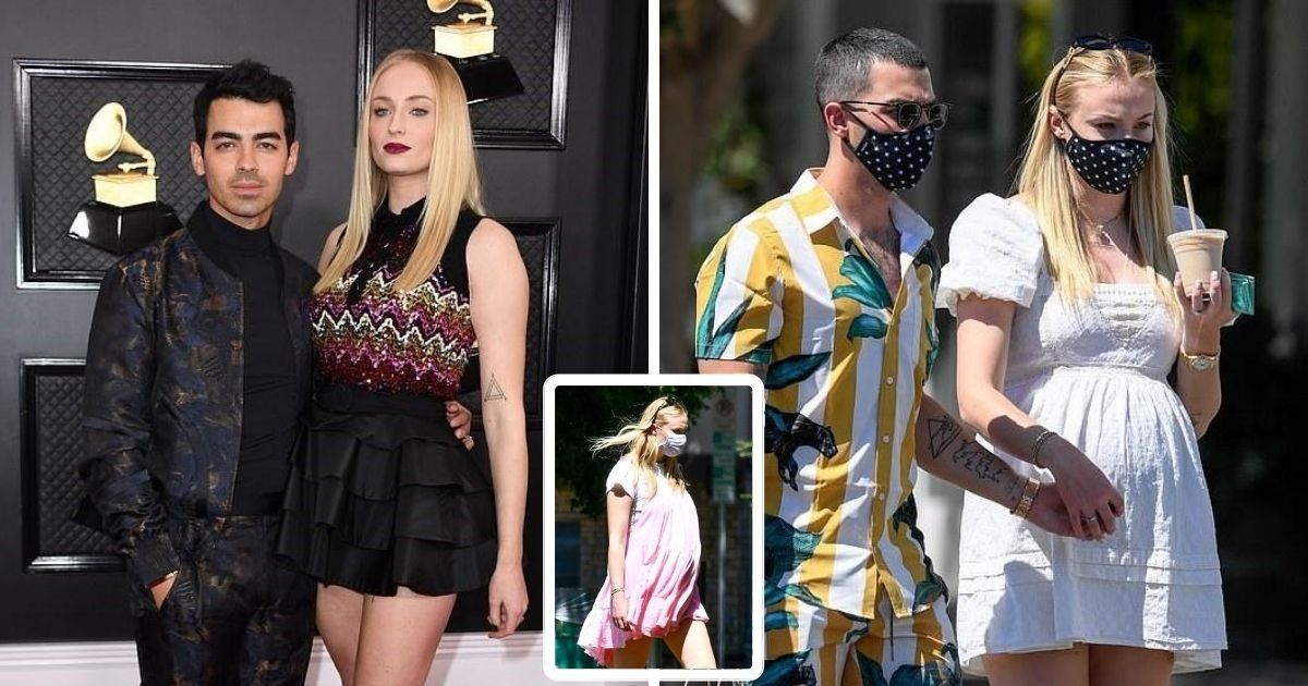 sophie5.jpg?resize=1200,630 - It's A Girl! Game Of Thrones Star Sophie Turner And Husband Joe Jonas Welcome First Child Together