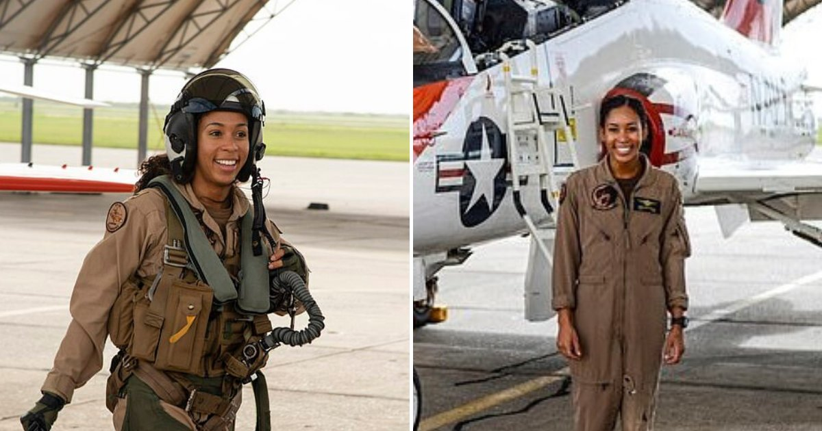 swegle6.png?resize=412,232 - US Navy Officer Madeline Swegle Makes History After Completing Her Training To Become A Tactical Jet Pilot