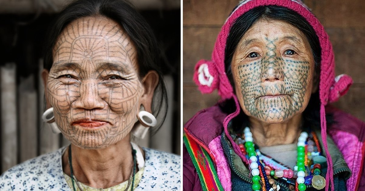 tattooed face woman.jpg?resize=1200,630 - Tattooed Face Woman Unveils Hidden Message Behind 'Ugly' Ink