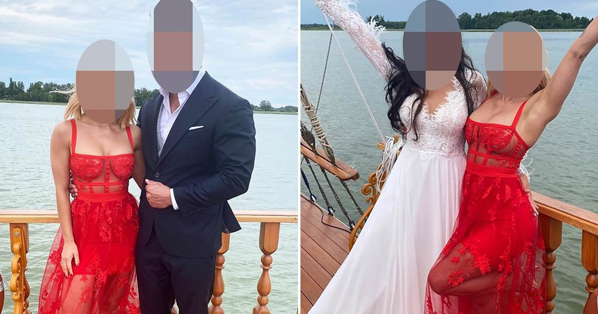 too hot to handle.jpg?resize=1200,630 - Wedding Guest Slammed For Wearing Too Hot To Handle Sexy Attire