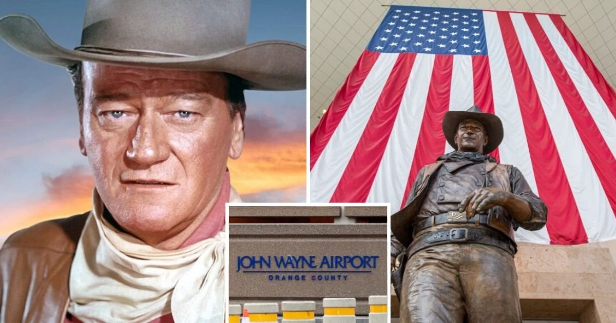 untitled design 1.jpg?resize=300,169 - John Wayne's Son Defended The Actor's Name Following Plans To Rename Airport Named After Him