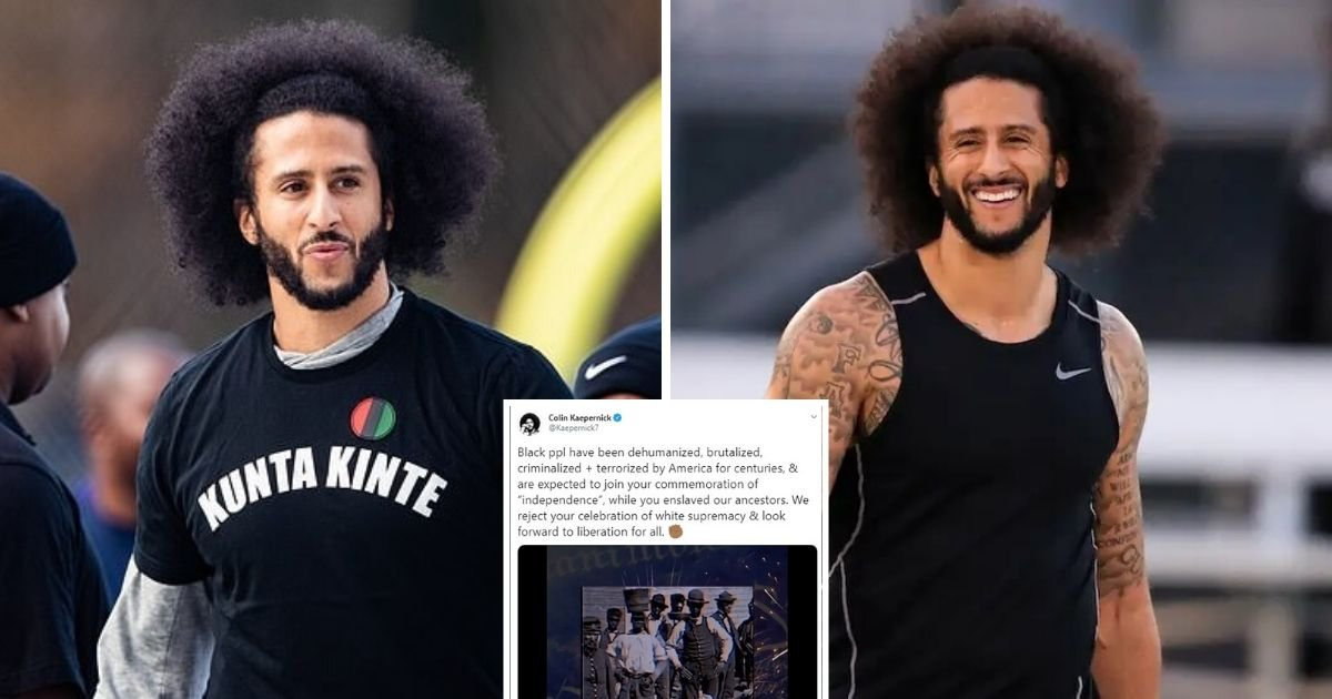 untitled design 12.jpg?resize=1200,630 - Colin Kaepernick Rejects Independence Day And Calls It A Celebration Of White Supremacy