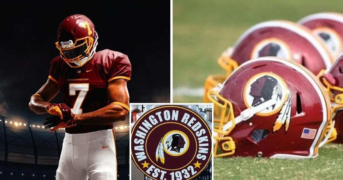 untitled design 37.jpg?resize=412,232 - Washington Redskins Reveal New Team Name After Ditching 'Racially Insensitive' Tag