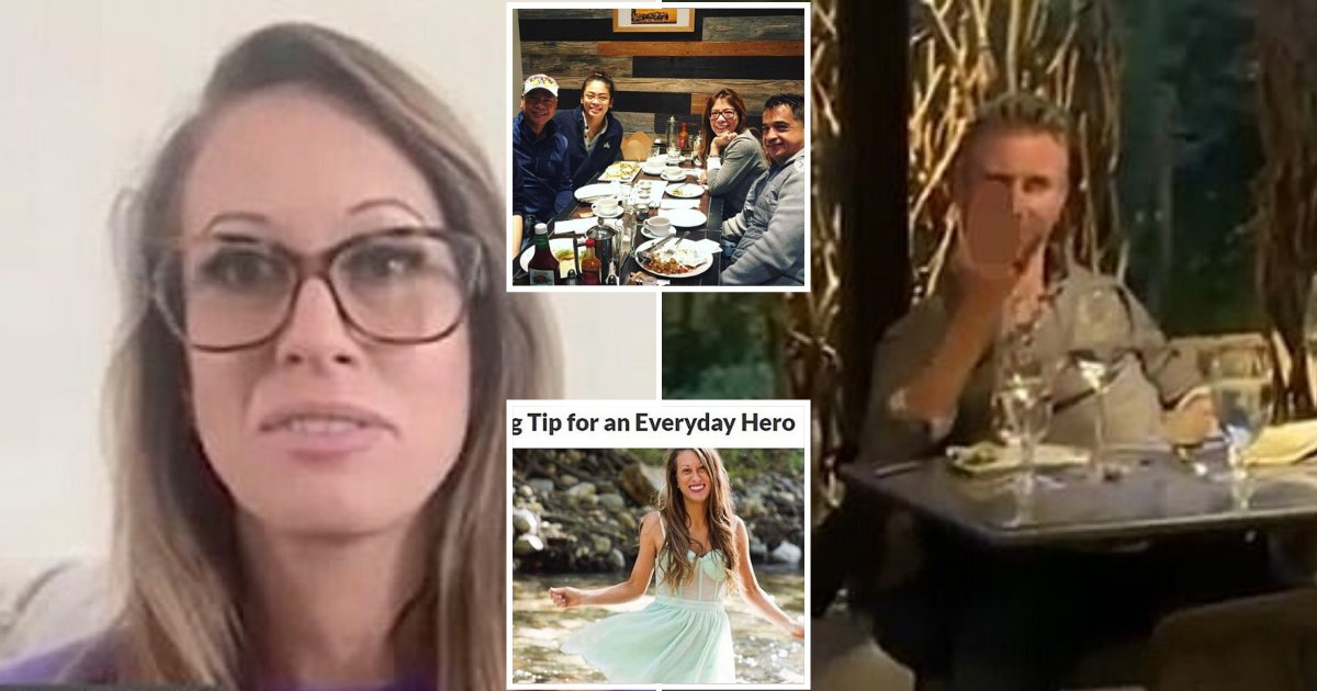waitress4.png?resize=412,275 - Waitress Received More Than $82K Tips From People Around The World After She Kicked Out A CEO From High-End Restaurant