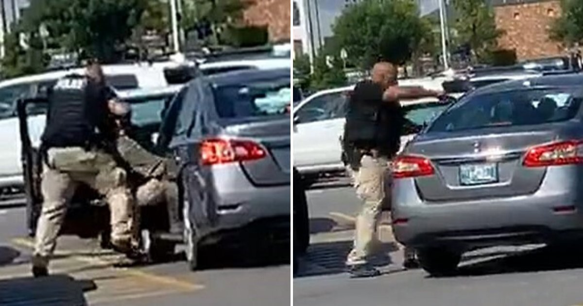 walmart5.png?resize=300,169 - Off-Duty Police Officer Fired 11 Rounds At Man Who Stole Items From Supermarket