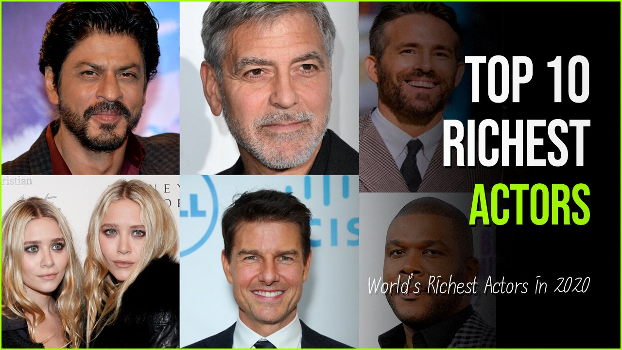 worlds richest actors.jpg?resize=1200,630 - 10 Of The World's Richest Actors Whose Net Worth Expands Millions