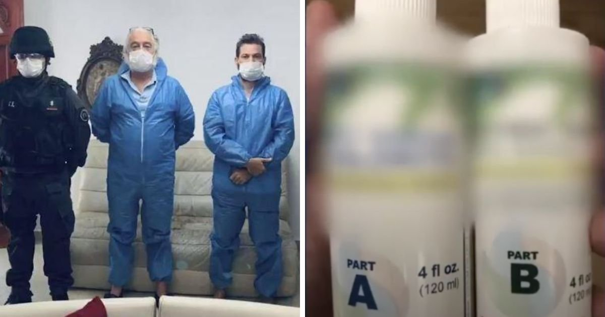 1 100.jpg?resize=1200,630 - Father and Son Arrested For Selling COVID-19 'Miracle Cure' Bleach Solution