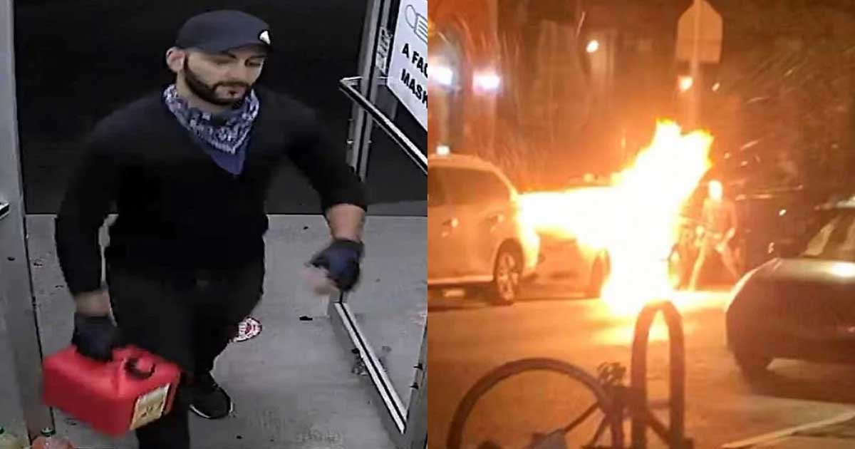 1 105.jpg?resize=1200,630 - Police Arrests Man Wanted For Torching NYPD Car After Taunting FBI