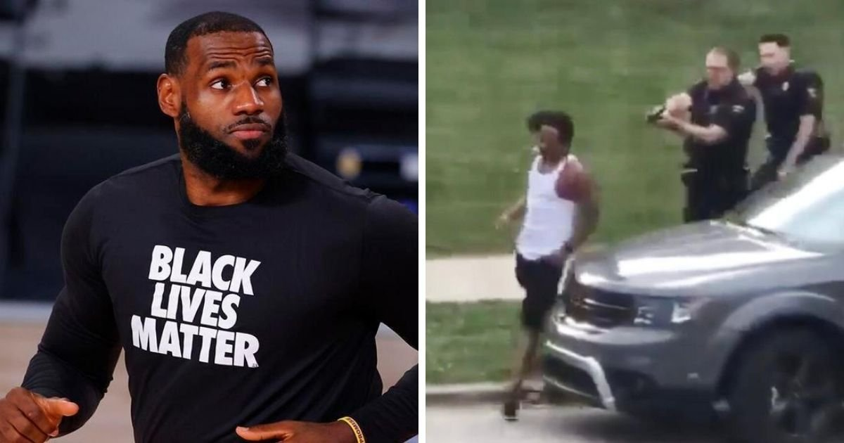 1 195.jpg?resize=1200,630 - 'People in America are Scared,' LeBron James Said After Jacob Blake Shooting