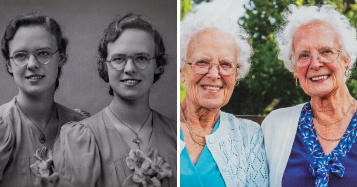 1 250.jpg?resize=412,275 - Oldest Identical Twins in Britain Celebrated Their 100th Birthday
