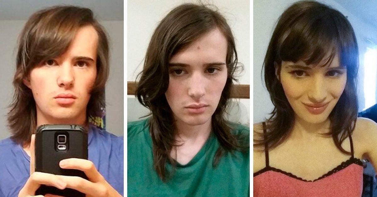 1 72.jpg?resize=412,232 - Mujer Transgénero Documenta Su Cambio Por 17 Meses Y Su Expresión Lo Demuestra Todo