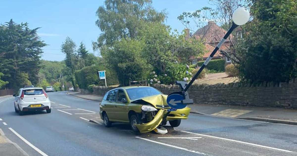117645568 168674631431222 6112673565208288202 n.jpg?resize=412,232 - Driver Crashes Car After Getting Scared By A Spider Inside His Car
