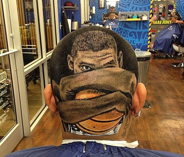 Tim Duncan Haircut