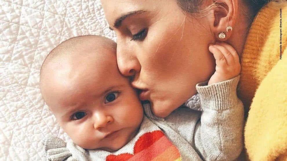 Esposa de Camilo Villegas despide a su hija con enternecedor mensaje