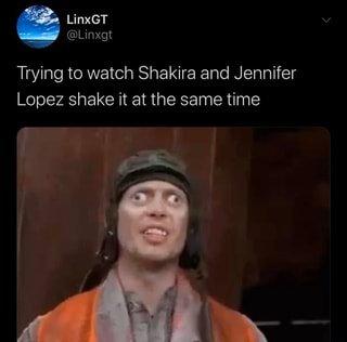 Trying to watch Shakira and Jennifer Lopez shake it at the same ...