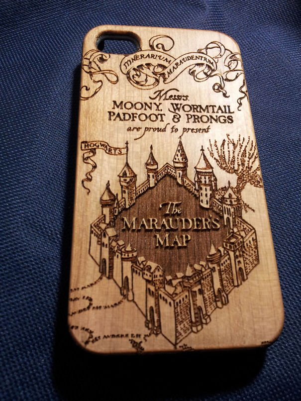 Harry Potter Wooden Phone Case