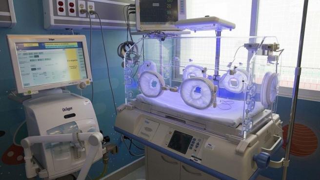 Imagen de una incubadora neonatal.