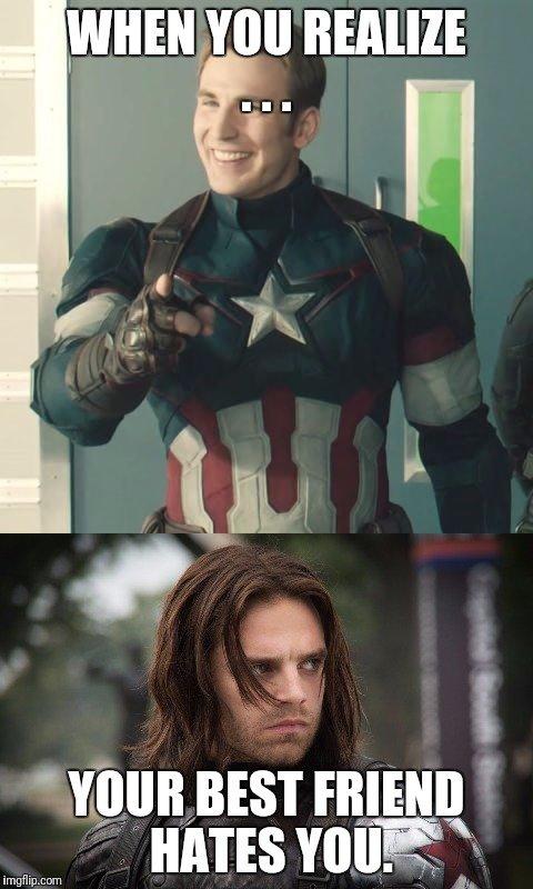 captain america meme template