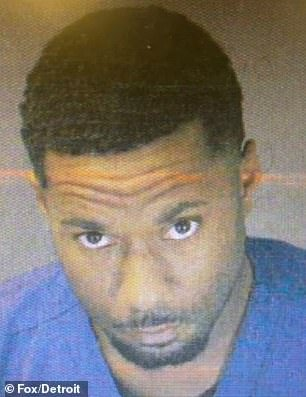 Stacey Tyrell Mercer Jr, 31, has been charged with beating and stealing from an Alzheimer