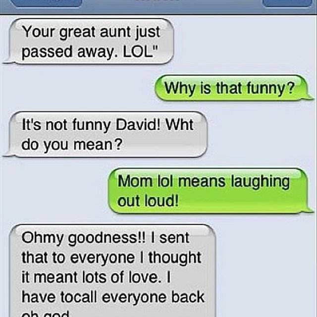email and text fails