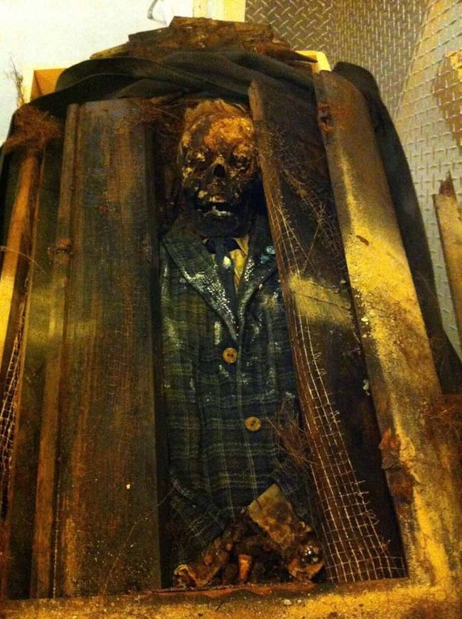 exhumed bodies