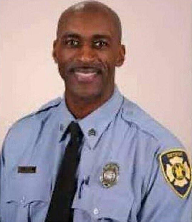 Fire Sgt. Sivad Johnson