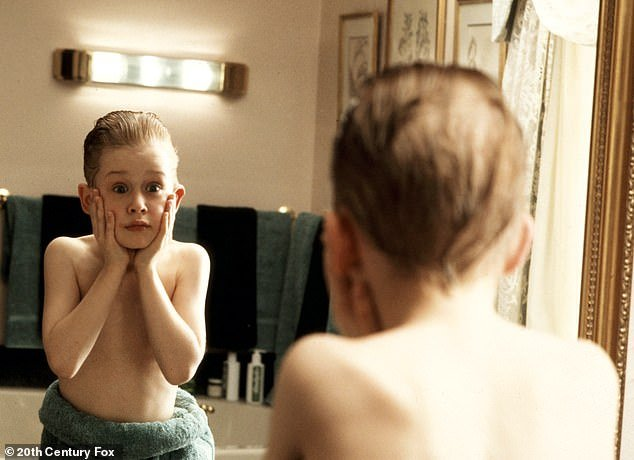 The big time:A year later Hughes cast Culkin as the child whose family leaves him behind in the blockbuster film Home Alone in which he played clever Kevin who outsmarts two crooks
