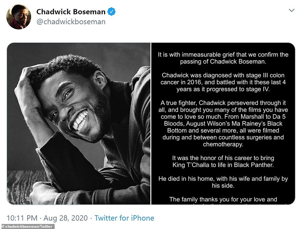 His family confirmed his passing in a statement on social media on Friday, saying the actor had been diagnosed with stage III cancer in 2016