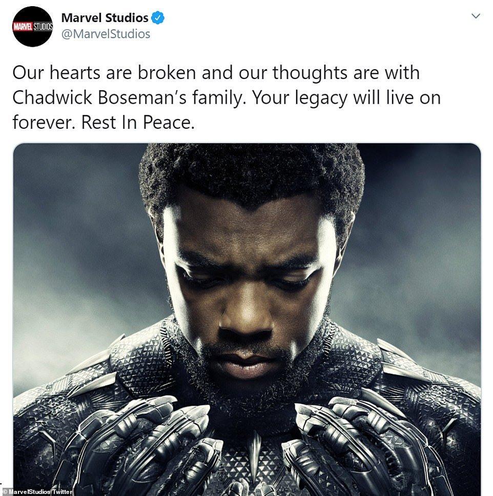 Marvel Studios reacted to Boseman