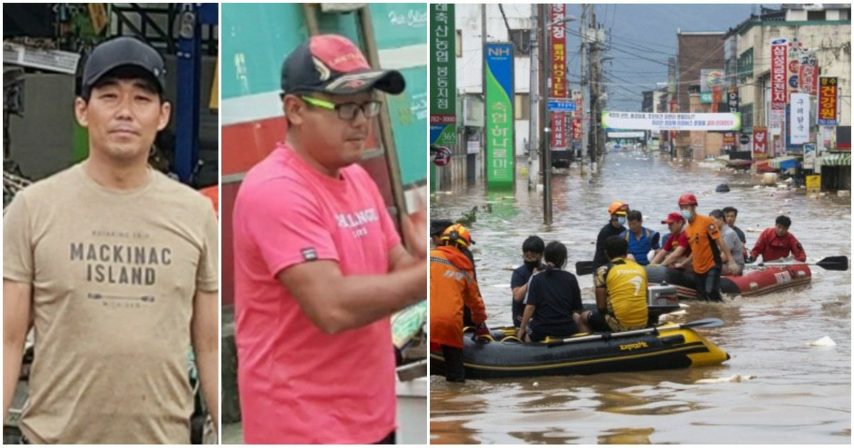 "5 15.jpg?resize=1200,630 - ""이런 분들이 있어 세상이 따뜻해""... 전남 구례, 폭우 속 민간인 '보트 영웅' 둘이 40명을 구했다."