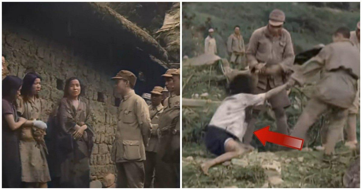 """5 28.jpg?resize=1200,630 - """"가슴이 찢어질 듯""""...일본군에게 끌려갔던 위안부 영상, 참혹한 현장이 컬러로 복원되었다"""