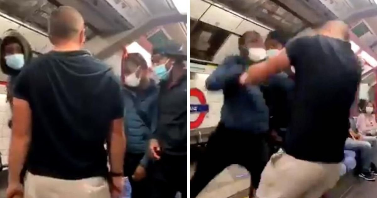 6 44.jpg?resize=1200,630 - Man Got Knocked Out With One Punch After His Racist Remarks On Passengers