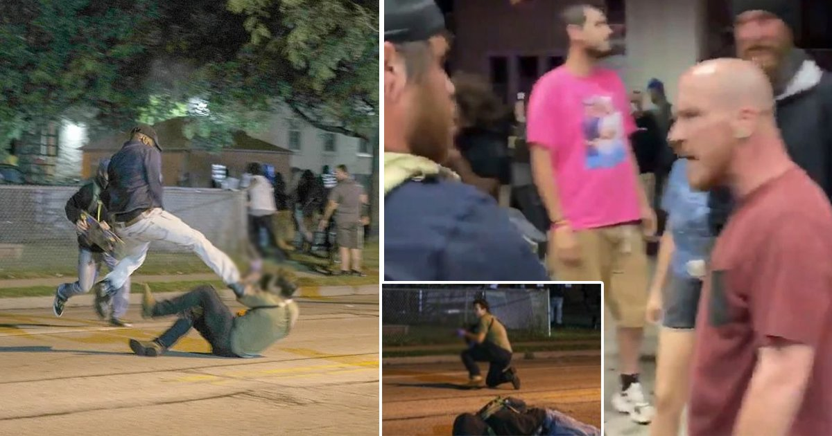 agasdg.jpg?resize=1200,630 - New Video Shows Slain Kenosha Protestor Screaming 'Shoot Me' Minutes Before Killing