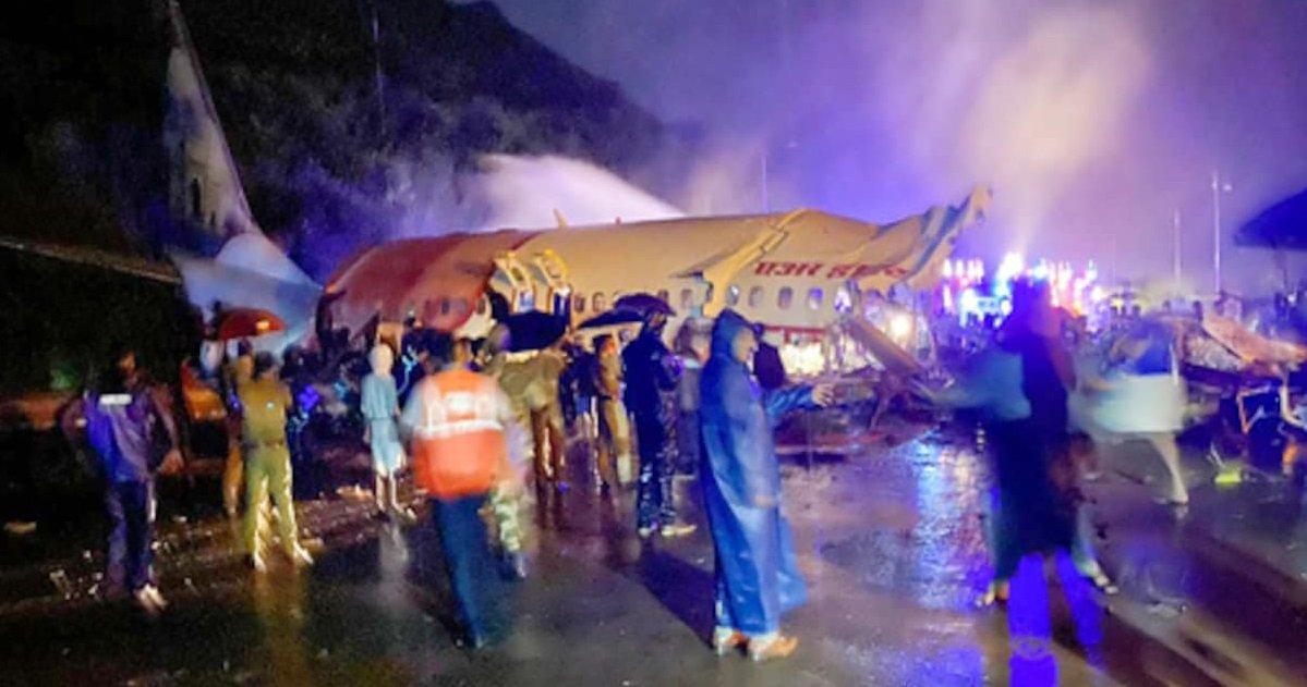 aie.jpg?resize=412,232 - Air India: un avion s'est écrasé lors d'un atterrissage d'urgence dans la région du Kerala
