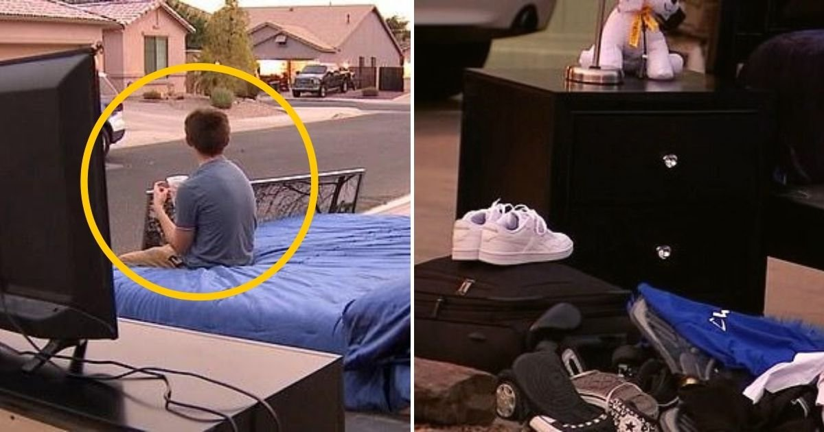 angel5.jpg?resize=1200,630 - 14-Year-Old Boy Forced To Give Away All His Belongings In Front Of Family Home