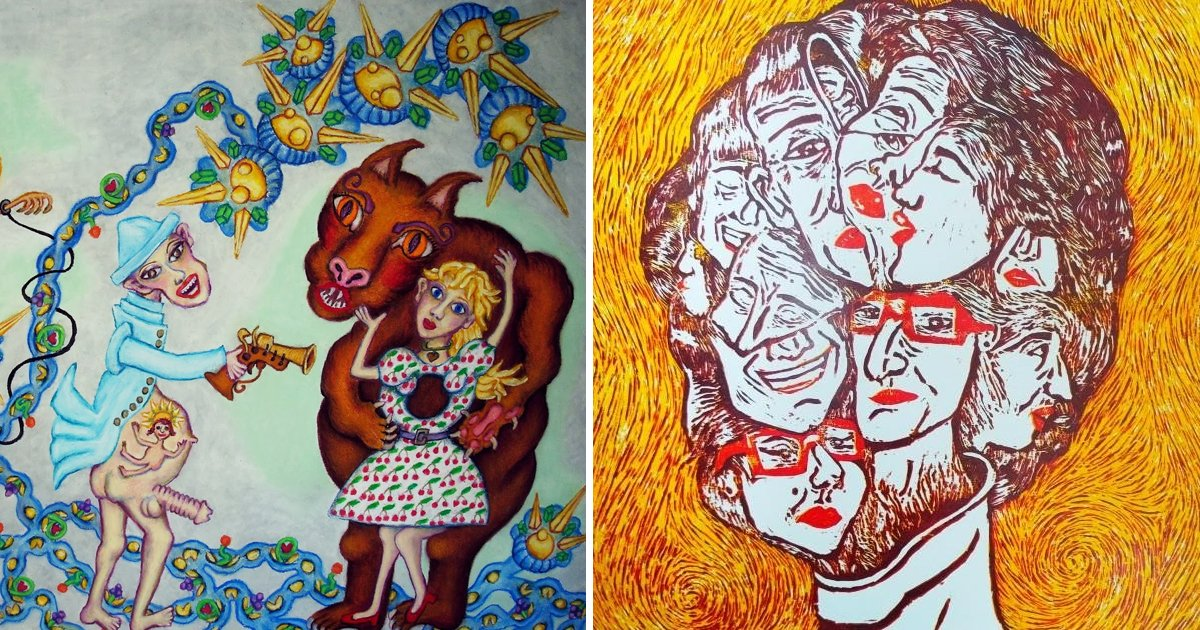 artists.jpg?resize=412,232 - 8 Images That Unveil Intense Perspective Of Artists With Schizophrenia