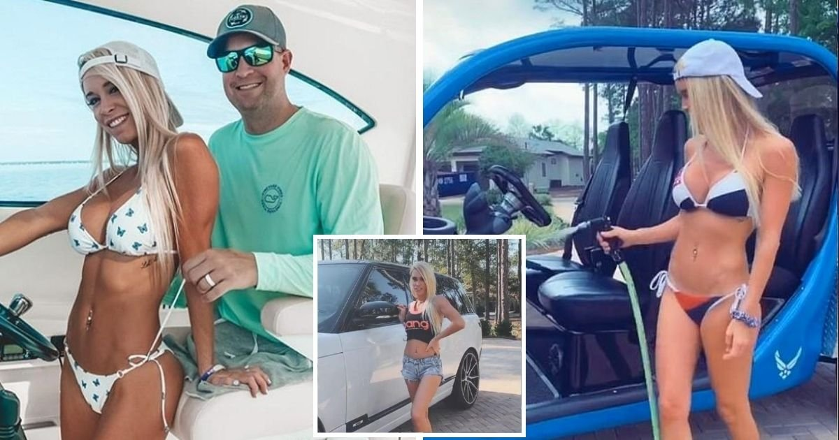 ashley6.jpg?resize=1200,630 - Luxury Lifestyle Of Triple-Amputee Veteran And TikToker Wife After Stealing Funds From 'We Build The Wall Donations'