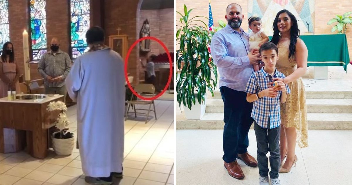 baptism.jpg?resize=412,232 - Priest Kicks Out 7-Year-Old Child With Autism For Making Noise During Sister's Baptism