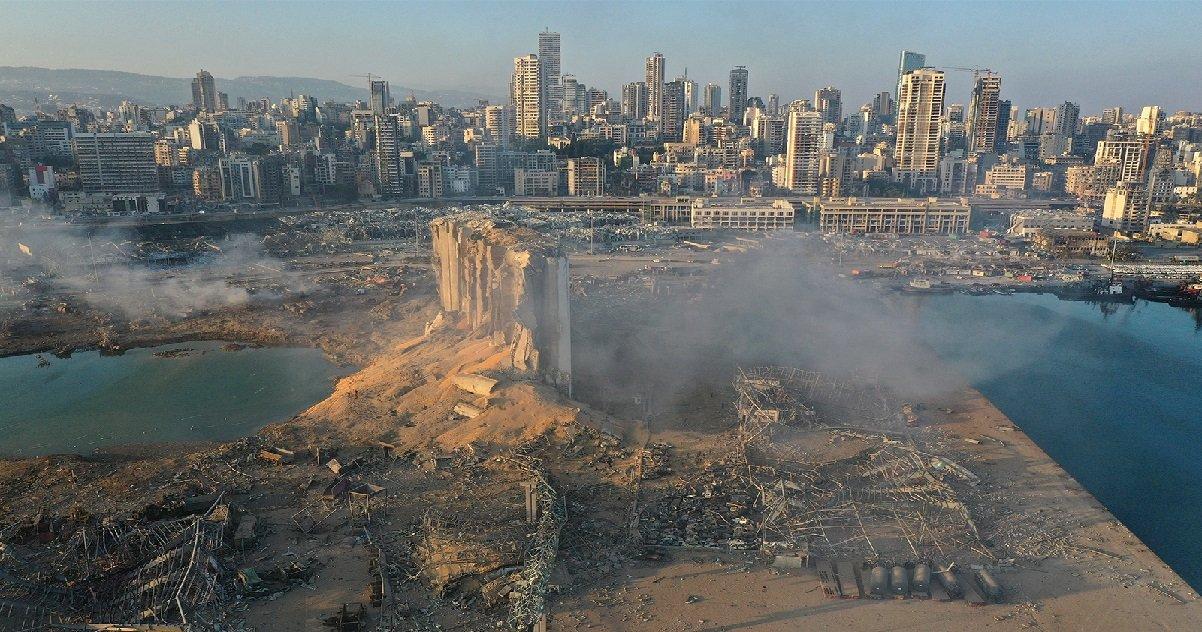 """beyrouth.jpg?resize=412,232 - Explosion à Beyrouth: le président libanais parle de """"négligence"""" ou d'une """"intervention extérieure"""""""
