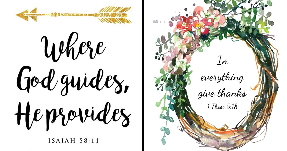 bible quotes.jpg?resize=412,232 - 10 Lovely Bible Quotes That Instill An Uplifting And Inspiring Aura