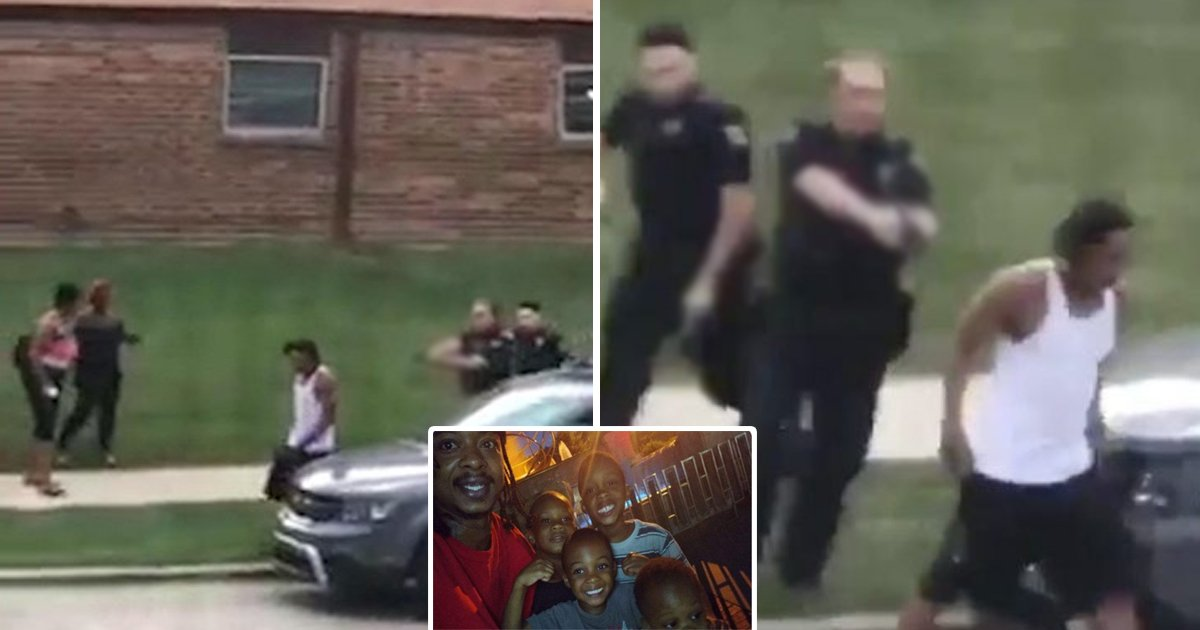 black man.jpg?resize=1200,630 - Wisconsin Cops Put On Leave After Shooting Black Man 7 Times In The Back