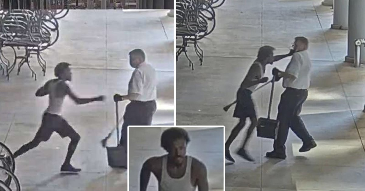 black punch chicago.jpg?resize=1200,630 - Crime In Chicago At An All-Time High As Elderly Sweeper Horrifically Punched