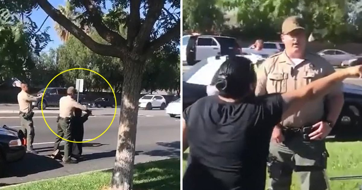 black teens.jpg?resize=1200,630 - Outrage Breaks Out As Deputies Filmed Aiming High-powered Rifles At Black Teen Boys In LA