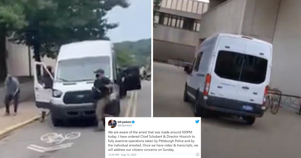 blm police.jpg?resize=1200,630 - Plainclothes Police Throw Black Lives Matter Protester Into 'Mysterious Van' And Drive Off