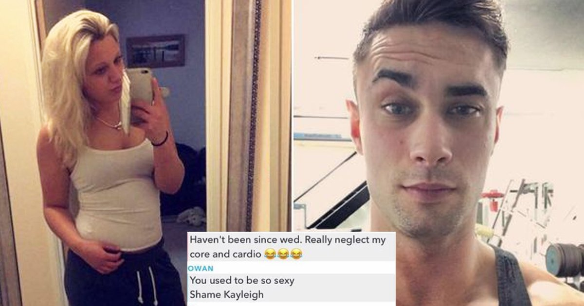 body fat shaming.jpg?resize=1200,630 - Woman Gets Facebook Revenge On Body Shaming Personal Trainer Who Mocked Her 'Belly'