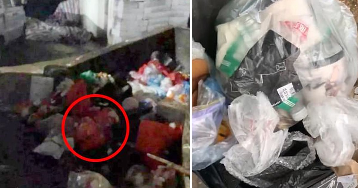 china 1.jpg?resize=1200,630 - Newborn Infant With 'Umbilical Cord Still Attached' Found Abandoned In Trash Bin In China