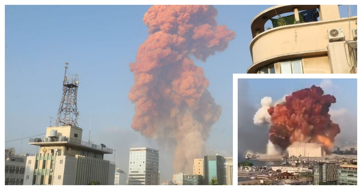 collage 11.jpg?resize=1200,630 - Huge Explosion In The Lebanese Capital of Beirut